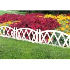Садовое ограждение «Арка» 2,4м (белый)